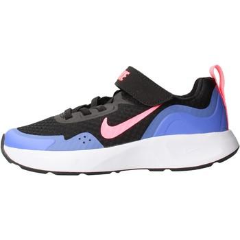Sapatos Rapaz Sapatilhas Nike - Wearallday nero CJ3817-009 NERO