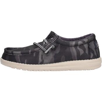 Sapatos Rapaz Mocassins Hey Dude - Sneaker blu WALLY YOUTH 2557 BLU