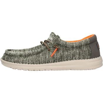 Sapatos Rapaz Sapatos Hey Dude - Sneaker verde WALLY YOUTH 8337 VERDE