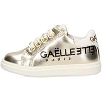 Sapatos Rapaz Sapatilhas GaËlle Paris - Sneaker platino G-742 PLATINO
