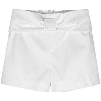 Textil Rapariga Shorts / Bermudas Mayoral  Blanco