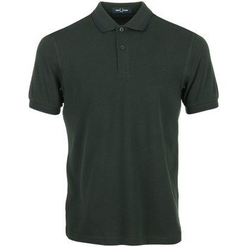 Textil Homem Polos mangas curta Fred Perry Twin Tipped Shirt Verde