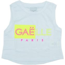 Textil Rapariga Tops sem mangas GaËlle Paris - T-shirt bianco 2746M0333 BIANCO
