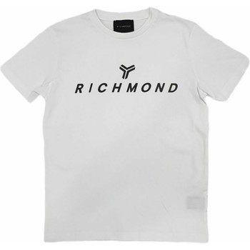 Textil Homem T-Shirt mangas curtas John Richmond - T-shirt bianco UMP21004TS BIANCO