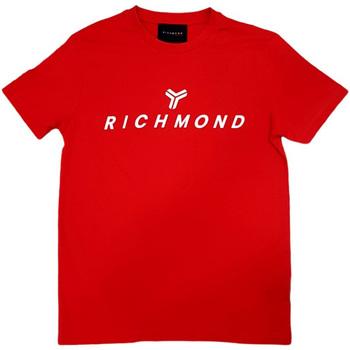Textil Homem T-Shirt mangas curtas John Richmond - T-shirt rosso UMP21004TS ROSSO