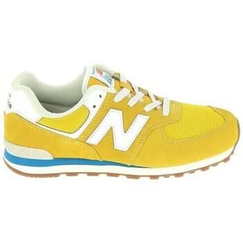Sapatos Criança Sapatilhas New Balance GC574 Jr Or Bleu Ouro