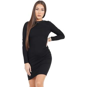 Textil Mulher Vestidos curtos Sixth June Robe femme  Classique noir
