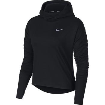 Textil Mulher Sweats Nike Running Hoodie Preto