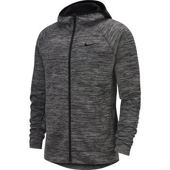 Textil Homem Sweats Nike Full-Zip Basketball Hoodie Cinza