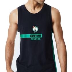 Textil Homem Tops sem mangas New-Era Nba Boston Preto
