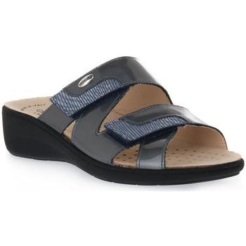 Sapatos Mulher Chinelos Grunland ACCIAIO 68ESTA Grigio