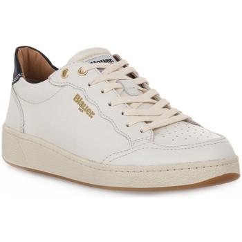 Sapatos Mulher Sapatilhas Blauer WHI OLYMPIA Bianco