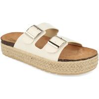 Sapatos Mulher Chinelos Benini 21301 Blanco