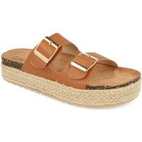 Sapatos Mulher Chinelos Benini 21301 Camel