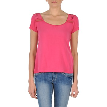 Textil Mulher T-Shirt mangas curtas DDP NOWI Rosa