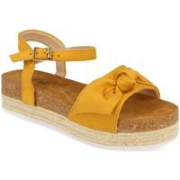 Sapatos Mulher Sandálias Benini 20336 Amarillo