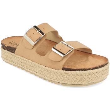 Sapatos Mulher Chinelos Benini 21302 Beige