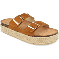 Sapatos Mulher Chinelos Benini 21302 Camel