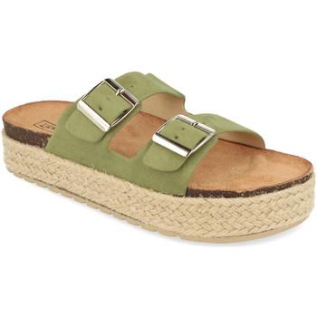 Sapatos Mulher Chinelos Benini 21302 Verde
