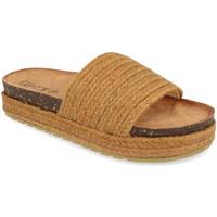 Sapatos Mulher Chinelos Silvian Heach L-19 Camel