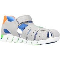 Sapatos Rapaz Sandálias Pablosky 080552 Cinza