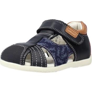 Sapatos Rapaz Sandálias Garvalin 212602 Azul