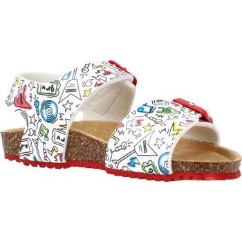 Sapatos Rapaz Sandálias Garvalin 212661 Branco