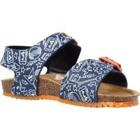 Sapatos Rapaz Sandálias Garvalin 212661 Azul