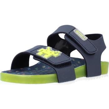 Sapatos Rapaz Sandálias Garvalin 212665 Azul