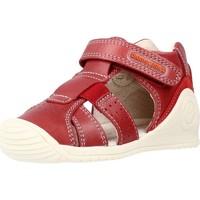 Sapatos Rapaz Sandálias Biomecanics 212134 Vermelho