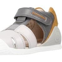 Sapatos Rapaz Sandálias Biomecanics 212136 Cinza