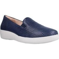 Sapatos Mulher Sapatos & Richelieu Stonefly PASEO IV 15 NAPPA INTRECCIA Azul