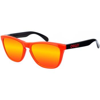 Relógios & jóias Mulher óculos de sol Oakley Gafas  Frogskins Multicolor