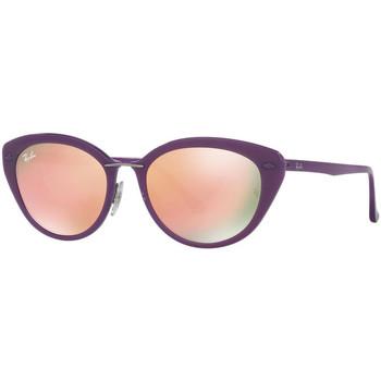Relógios & jóias Mulher óculos de sol Ray-ban Gafas  Lightray Violeta