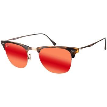 Relógios & jóias óculos de sol Ray-ban Gafas  Clubmaster Castanho