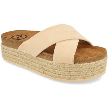 Sapatos Mulher Chinelos Woman Key MT-53 Beige