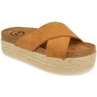 Sapatos Mulher Chinelos Woman Key MT-53 Camel