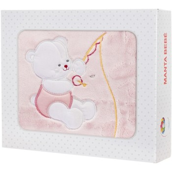 Casa Criança Mantas Le Petit Garçon Manta bebé Rosa