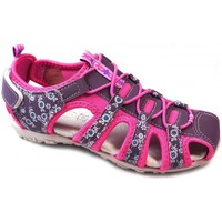 Sapatos Criança Sapatos & Richelieu Huran Sandalias  400121 Fucsia Rosa