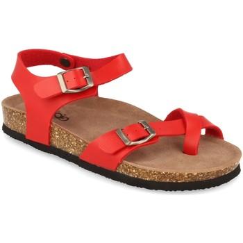 Sapatos Mulher Sandálias Woman Key D18-19 Rojo