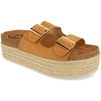 Sapatos Mulher Chinelos Woman Key MT-51 Camel