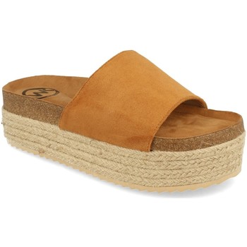 Sapatos Mulher Chinelos Woman Key MT-52 Camel