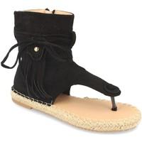 Sapatos Mulher Sandálias Woman Key MT-58 Negro