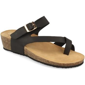 Sapatos Mulher Sandálias Woman Key R9002 Negro