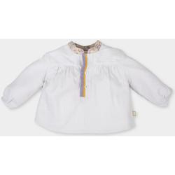 Textil Rapariga Tops / Blusas Tutto Piccolo Blusa m/larga Bege