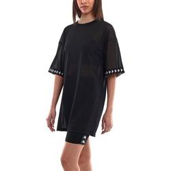 Textil Mulher Vestidos Kappa  Negro