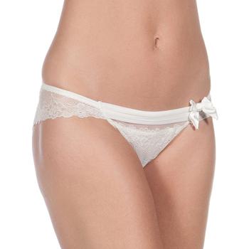 Roupa de interior Mulher Cuecas Selene Braguita Carla B Pack 2 Branco