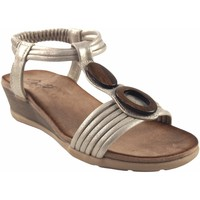 Sapatos Mulher Sandálias Deity senhora  17362 ybz platina Ouro