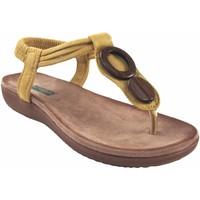 Sapatos Mulher Chinelos Amarpies senhora  17063 abz mostarda Amarelo