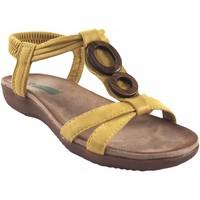 Sapatos Mulher Sandálias Amarpies senhora  17064 abz mostarda Amarelo